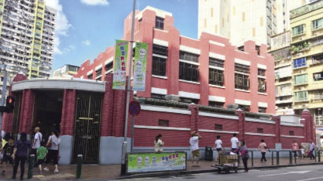 紅街市列文物 不能拆卸重建