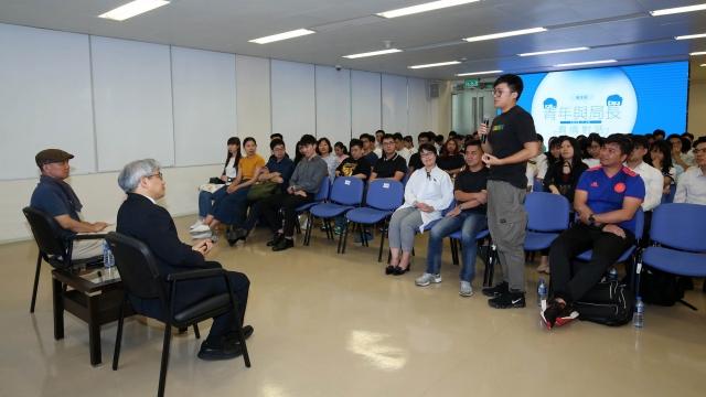 衛局與青年交流 談職業生涯規劃