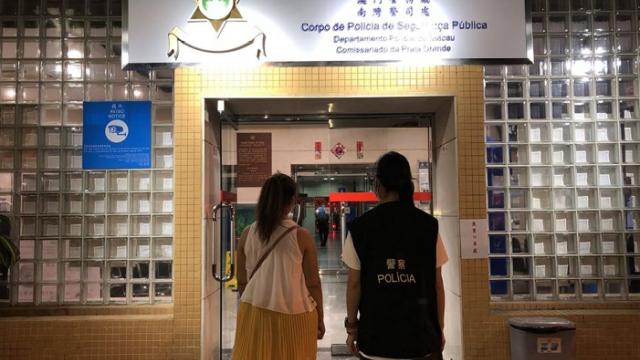 警根據舉報查食店_截一印尼過界外僱