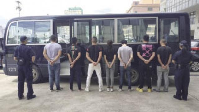 警民合作成功反偷渡 海關拘蛇頭等七男女