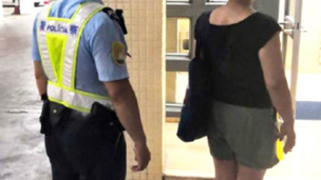 路過貪心偷倒後鏡涉案本地女子被捕