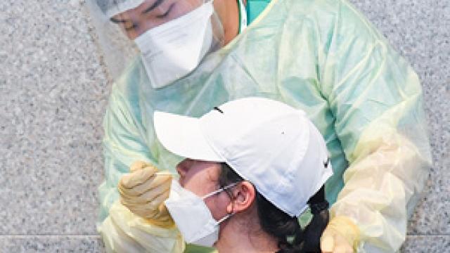 卅萬人已接受免費核檢_日採樣力提升至二萬三