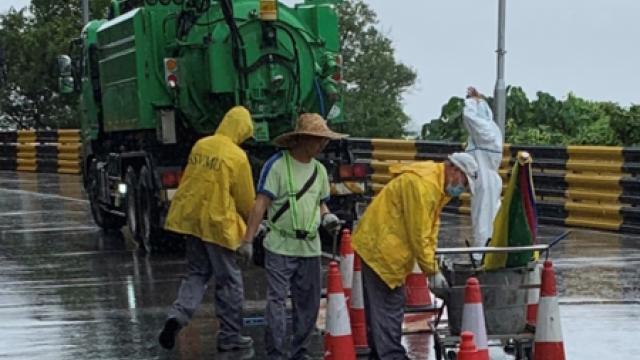 市政署啟動應對機制_加強颱風期疏通渠道