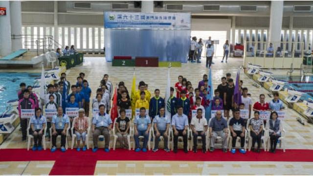 游泳錦標賽今爭團體桂冠