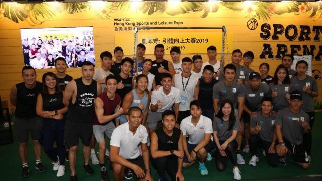 澳門街頭健身協會出征世界賽