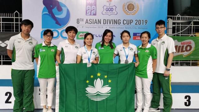 跳水代表隊亞洲盃摘兩銅