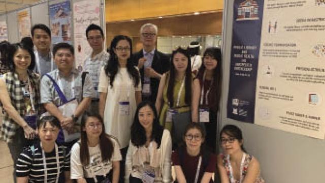 高校圖書館聯盟代表 出席國際圖書館年會