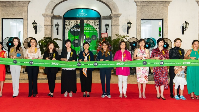 國際女藝術家澳門雙年展開幕