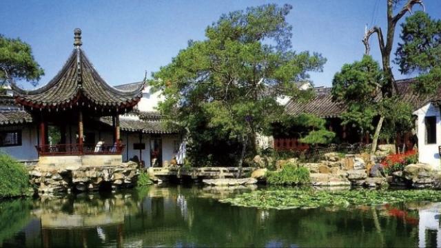 從滄浪亭看蘇州園林