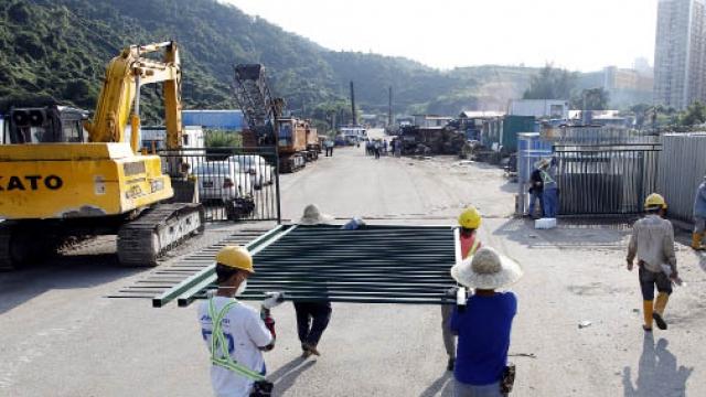 路環大幅土地被霸佔 政府採行動清遷收回