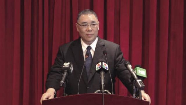 崔世安率代表團上京 出席慶改革開放活動 將獲國家領導人接見
