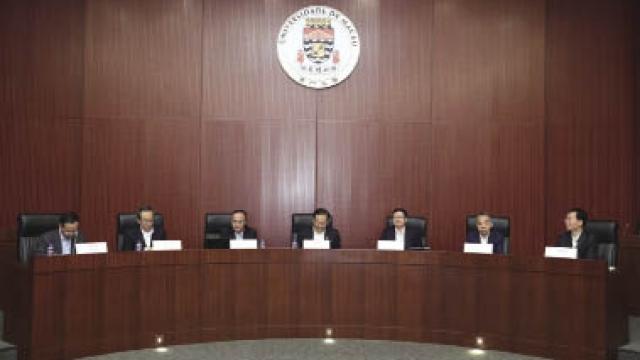 川省委書記彭清華 訪澳大簽合作協議