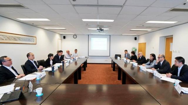 港澳海事部門會議 加強兩地溝通合作
