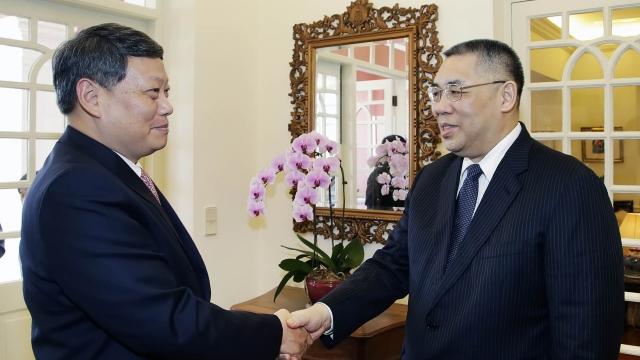 特首會見遼寧省長 深化合作拓展機遇