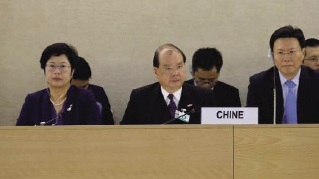 聯合國人權會議結束 陳司回應反歧視問題