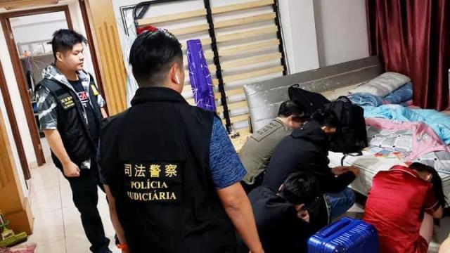 警反罪惡淨化社區治安 冚三非法旅館破換錢黨 查獲多名男女八涉違法