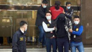 """司警首揭面膜藏毒案 拘三名內地男女""""車手"""" 檢百二萬元液態冰毒"""