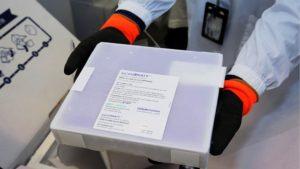 十萬劑BioNtech疫苗抵澳_今可預約週三接種