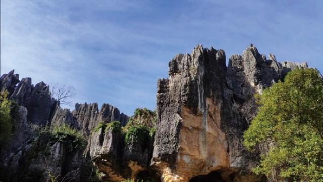 上山下洞遊覽雲南石林