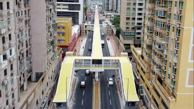 延伸空中走廊步行系統_工務局指取決都市發展