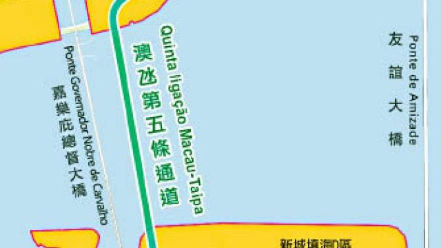 舊大橋旁建海底隧道 採雙向六車行駛設計 首階段公示收集意見
