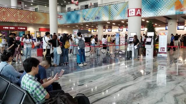 機場首半年客運量增長百分之十八