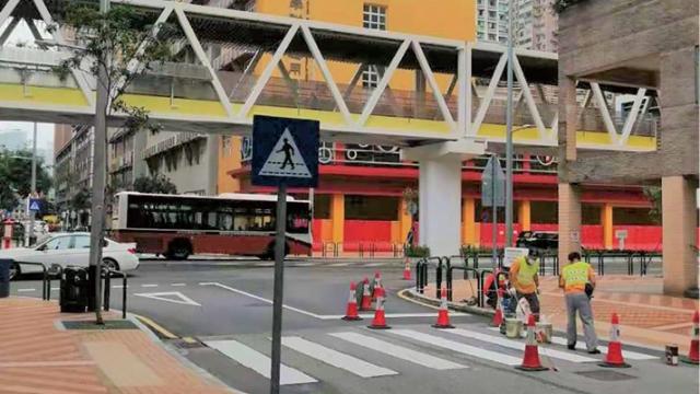 學校周邊過路設施_交局完成翻新優化