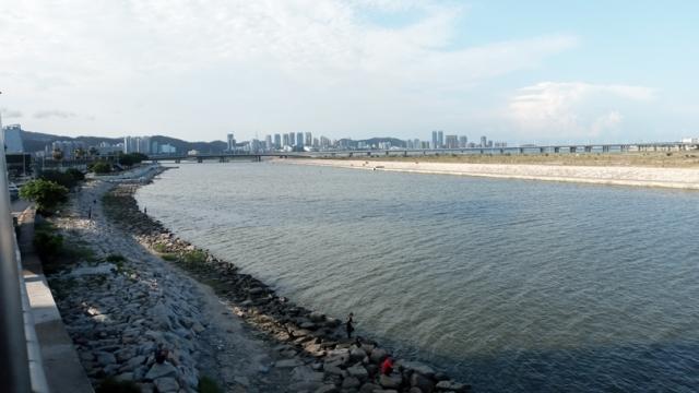 澳向中央申置換填海地_A區水道替代D區_滿足市民綠化需要