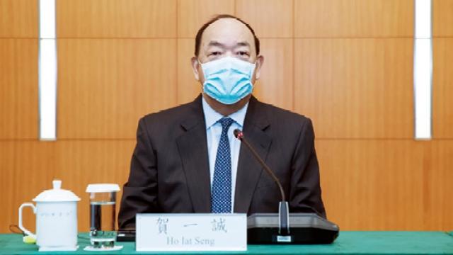 疫情打擊中小企經濟_賀:正研判支援措施