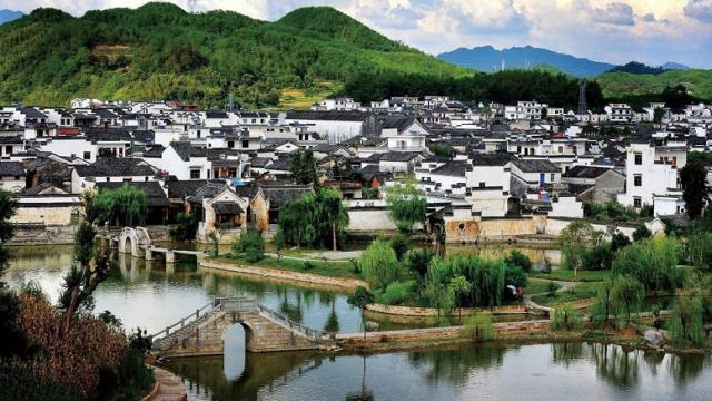 皖南古村落—西遞村