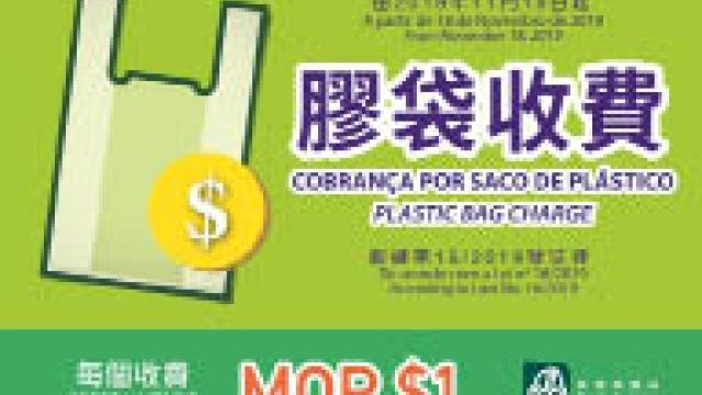 膠袋徵費每個一元 旅遊零售業界支持 冀多方面加強宣傳