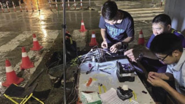 澳門電訊地下通訊設施遭損毀 籲有關工程承辦商能嚴謹監督
