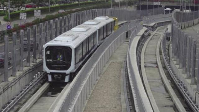 澳門首個軌道交通項目 服務範圍覆蓋整個氹仔