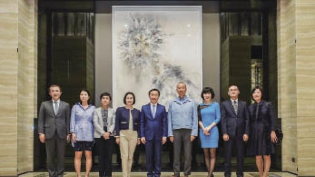 美高梅展著名藝術家蔡國強藝術作品